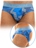 Modus Vivendi - Trapped Camo Bottomless - Blue