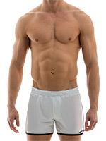 Modus Vivendi - Sporty Shorts - White