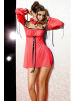Anais - Mini Dress + String Xenia red