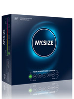 36 x MY.SIZE Condoms - Size 47