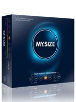 36 x MY.SIZE Condoms - Size 57