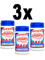 3 x Push potency pills