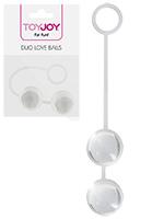 ToyJoy - Duo Love Balls - transparent