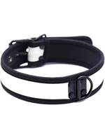 Pupplay Neoprene Collar - White