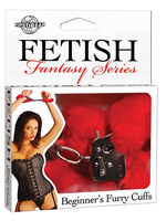 Fetish Fantasy - Beginners Furry Cuffs - Red