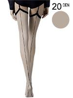 Fiore - Patterned Stockings Provoke Linen
