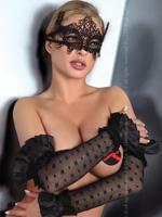Livia Corsetti - Mask Black Model 2