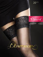 Fiore - Sheer Hold-Ups Milena Black