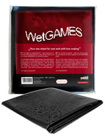 WetGAMES Sex-Sheet - Black 180x220 cm